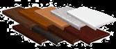 Цветные подоконники