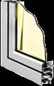 Алюминеевый оконный профиль