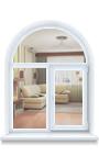 Окна REHAU нестандартной формы